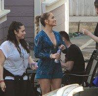 "Jennifer Lopez a preparar-se para as gravações de ""American Idol"""