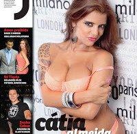 Cátia Almeida despida na Revista J 248