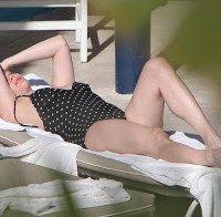 Liv Tyler de biquini em Miami