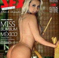 Sheila Mell nua (Revista Sexy especial edição de coleccionador)