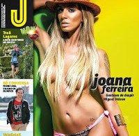 Joana Ferreira (actriz porno portuguesa) despida na Revista J 451