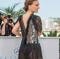 O rabo de Natalie Portman (vestido transparente)
