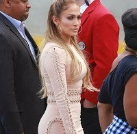 Jennifer Lopez no estúdio do American Idol