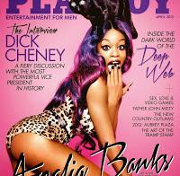 Azealia Banks nua (Playboy americana Abril 2015)