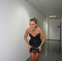 Cristina Ferreira na 9ª gala do Dança Com as Estrelas