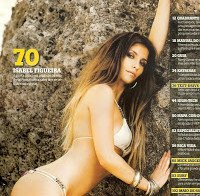 Isabel Figueira topless na Maxmen (2008)