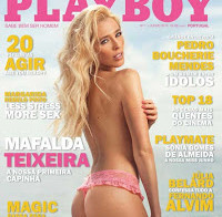 Todas as fotos de Mafalda Teixeira nua (Playboy)