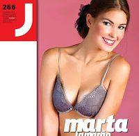 Marta Lamarão despida na Revista J 266