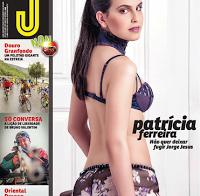 Patrícia Ferreira topless na Revista J 453 (fotos HQ)