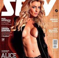 Alice Ramos nua (Revista Sexy Junho 2015)