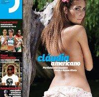 Cláudia Americano despida na Revista J 305