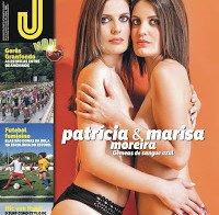 Patrícia Moreira e Marisa Moreira despidas (Revista J 459)