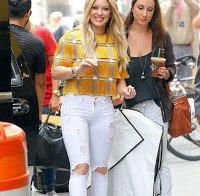 Hilary Duff por Nova Iorque