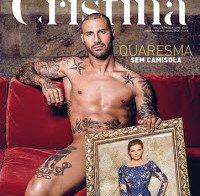 Ricardo Quaresma nu (capa revista Cristina Ferreira)