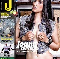 Joana Carvalho despida na Revista J 463