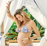 Luana Piovani grávida em sessão de biquini