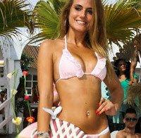 O corpo de Liliana Antunes Casa dos Segredos (desfile em biquini 2015)
