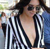 O decote de Kendall Jenner