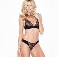 Heidi Klum de lingerie a lançar a sua própria marca