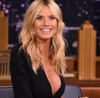 Heidi Klum deslumbrante (The Tonight Show)