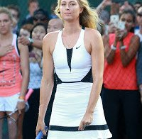 "Maria Sharapova no evento ""NYC Street Tenis"""