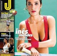 Inês Mendes despida (Revista J 465)