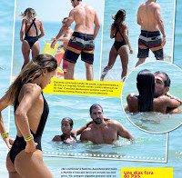 Carolina Patrocínio de biquini no Algarve 2015 (de férias a exibir o rabo)