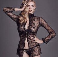 Lara Stone topless (W Magazine)