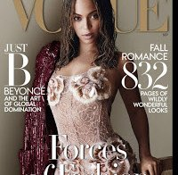 Beyonce Knowles na Vogue