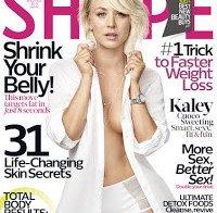 Kaley Cuoco sensual na Shape magazine (Outubro 2015)
