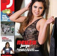 Neuza Jorge despida na Revista J 402