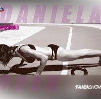 Daniela Ruah treina de biquini (ensaio Women's Health)