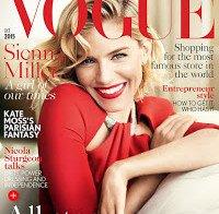 Sienna Miller quase nua (Vogue)