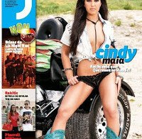 Cindy Maia despida na Revista J 401