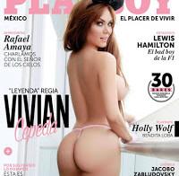 Vivian Cepeda nua (Playboy Mexico Agosto 2015)