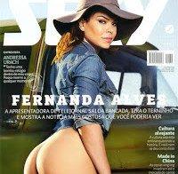 Fernanda Alves nua (Revista Sexy Outubro 2015)
