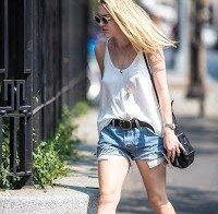 Dakota Fanning sem sutiã a passear em Nova Iorque