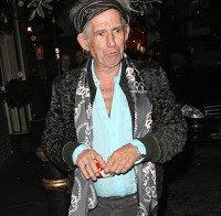 "Keith Richards: ""Rap – Tantas palavras & tão pouco dito"""