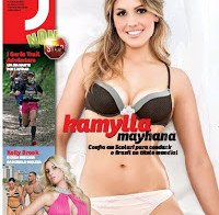 Kamylla Mayhana despida na Revista J 400