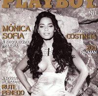 Mónica Sofia nua (primeira edição Playboy Portugal)
