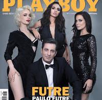 Paulo Futre na capa da Playboy (Outubro 2015)