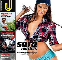 Sara Martins despida (topless na Revista J 476)