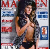 As mamas de Merche Romero em ensaio ousado (Maxmen 2006)