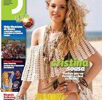 Cristina Sousa despida na Revista J 403