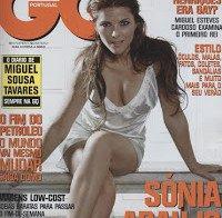 Sónia Araújo despida em revista (GQ 2008)