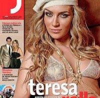 Teresa Rolla despida na Revista J 84