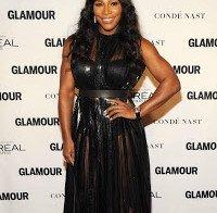 Serena Williams nos prémios Mulher do Ano da Glamour (2015)