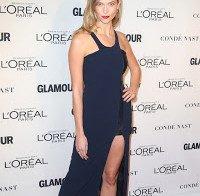 Karlie Kloss nos prémios Mulher do Ano da Glamour (2015)