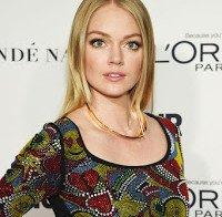 Lindsay Ellingson nos prémios de Mulher do Ano da Glamour