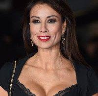 Melanie Sykes na estreia do filme do Ronaldo